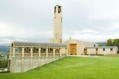 Mission Hill Winery Kelowna. Beautiful architecture at Mission Hill Estate Winery in Kelowna, BC Stock Photos