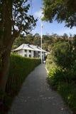 Mission historique de Pompallier à Russell, baie des îles Image libre de droits