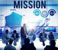 Mission Inspiration Aspiration Strategy Concept Royalty Free Stock Photo