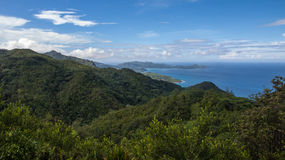 Mission Lodge Lookout in Seychelles Stock Photography