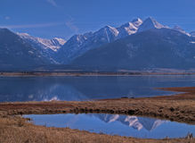 The Mission Moutains Reflected #3 Royalty Free Stock Photos