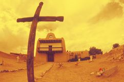 Mission in New Mexico Royalty Free Stock Images