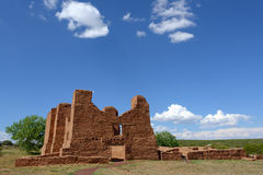 Mission Ruins. Quarai Ruins in Salinas Pueblo National Monument Royalty Free Stock Photo