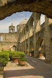 Mission in San Antonio, Texas Royalty Free Stock Photo