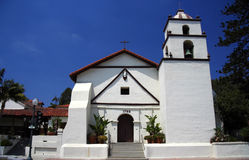 Mission San Buenaventura Stock Photo