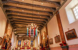 Mission San Buenaventura Basilica Christmas Day Ventura Californ Royalty Free Stock Photos