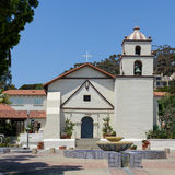 Mission San Buenaventura Royalty Free Stock Images