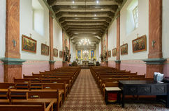 Mission San Buenaventura Royalty Free Stock Photography