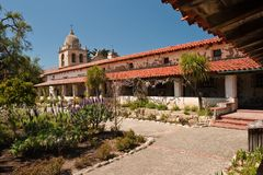 Mission San Carlos Borromeo de Carmelo Stock Photos