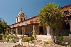 Mission San Carlos Borromeo de Carmelo Royalty Free Stock Photography