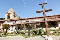 Mission San Carlos Borroméo del río Carmelo Stock Images