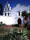 MISSION SAN DIEGO DE ALCALA. First mission build in California by Father Junipero Serra in  1769 Royalty Free Stock Images