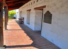 Mission San Francisco de Solano, Sonoma Royalty Free Stock Photo