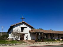 Mission San Francisco Solano in Sonoma California USA. Color landscape photo of Mission San Francisco Solano in Sonoma California USA Royalty Free Stock Images