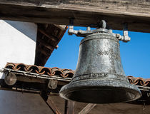 Mission San Francisco Solano. Vintage bell from 1829, Mission San Francisco Solano in Sonoma, California Stock Photography