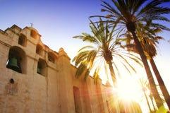 Mission San Gabriel Arcangel Stock Images