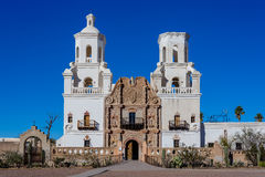 Mission San Javier del Bac, Tucson, AZ, USA Royalty Free Stock Photos