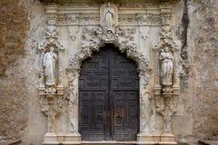 Mission San Jose. Exquisite entrance of Mission San Jose, San Antonio Stock Images
