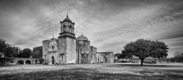 Mission San Jose. Also known at the Queen of the Missions, in San Antonio, Texas Stock Photos