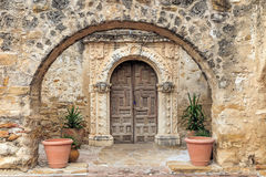 Mission San Jose. Is a historic Catholic mission in San Antonio, Texas, USA Stock Images