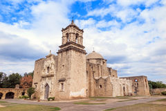 Mission San Jose. Is a historic Catholic mission in San Antonio, Texas, USA Royalty Free Stock Photos