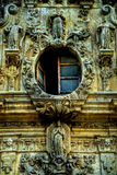 Mission San Jose Open Window and Stonework Royalty Free Stock Photos