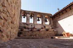Mission San Juan Capistrano bells Stock Image