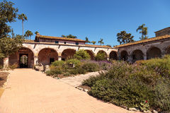 Mission San Juan Capistrano. San Juan Capistrano, CA, USA —September 25, 2016: The Mission San Juan Capistrano in Southern California, United States. Editorial Royalty Free Stock Photography