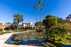 Mission San Juan Capistrano Courtyard Royalty Free Stock Images