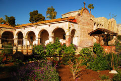 Mission San Juan Capistrano, la Californie Images stock