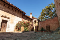 Mission San Juan Capistrano in Southern California Stock Photos