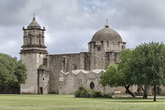 San Jose Mission. This mission is one of nine within the Mission National Historic Parks stock photo