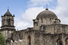 Mission San Jose, San Antonio, Texas. This mission is one of nine within the Mission National Historic Parks royalty free stock image