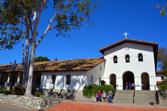 Mission San Luis Obispo de Tolosa Stock Photography