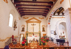 Mission San Luis Obispo de Tolosa California Basilica Cross Stock Images