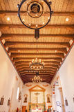 Mission San Luis Obispo de Tolosa California Wooden Ceiling Royalty Free Stock Images