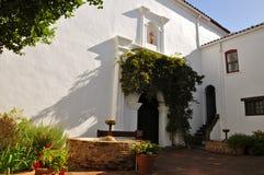 Mission San Luis Rey Courtyard Images libres de droits