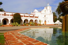 Mission San Luis Rey Fountain Stock Photography