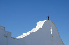 Mission San Xavier Del Bac. Spanish mission called White Dove of the Desert, near Tucson Arizona Royalty Free Stock Images