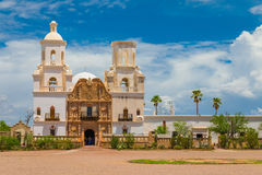 Mission San Xavier Del Bac Images stock