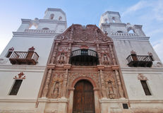 A Mission San Xavier del Bac, Tucson Royalty Free Stock Image