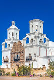 Mission San Xavier del Bac Tucson. Arizona United States Stock Photography