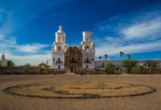Mission San Xavier del Bac Stock Photo