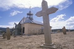 Mission in San Ysidro New Mexico Royalty Free Stock Image