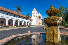 Mission Santa Barbara Photographie stock