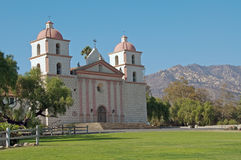 Mission santa barbara Stock Image