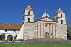 Mission Santa Barbara. The mission at Santa Barbara, an old Spanish church in Santa Barbara, California Stock Photos