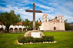 Mission Santa Barbara. Historic Mission Santa Barbara, Central California Royalty Free Stock Images