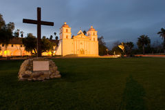 Mission Santa Barbara Stock Photo