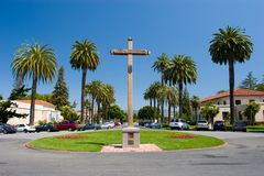 Mission Santa Clara de Asis Stock Photography